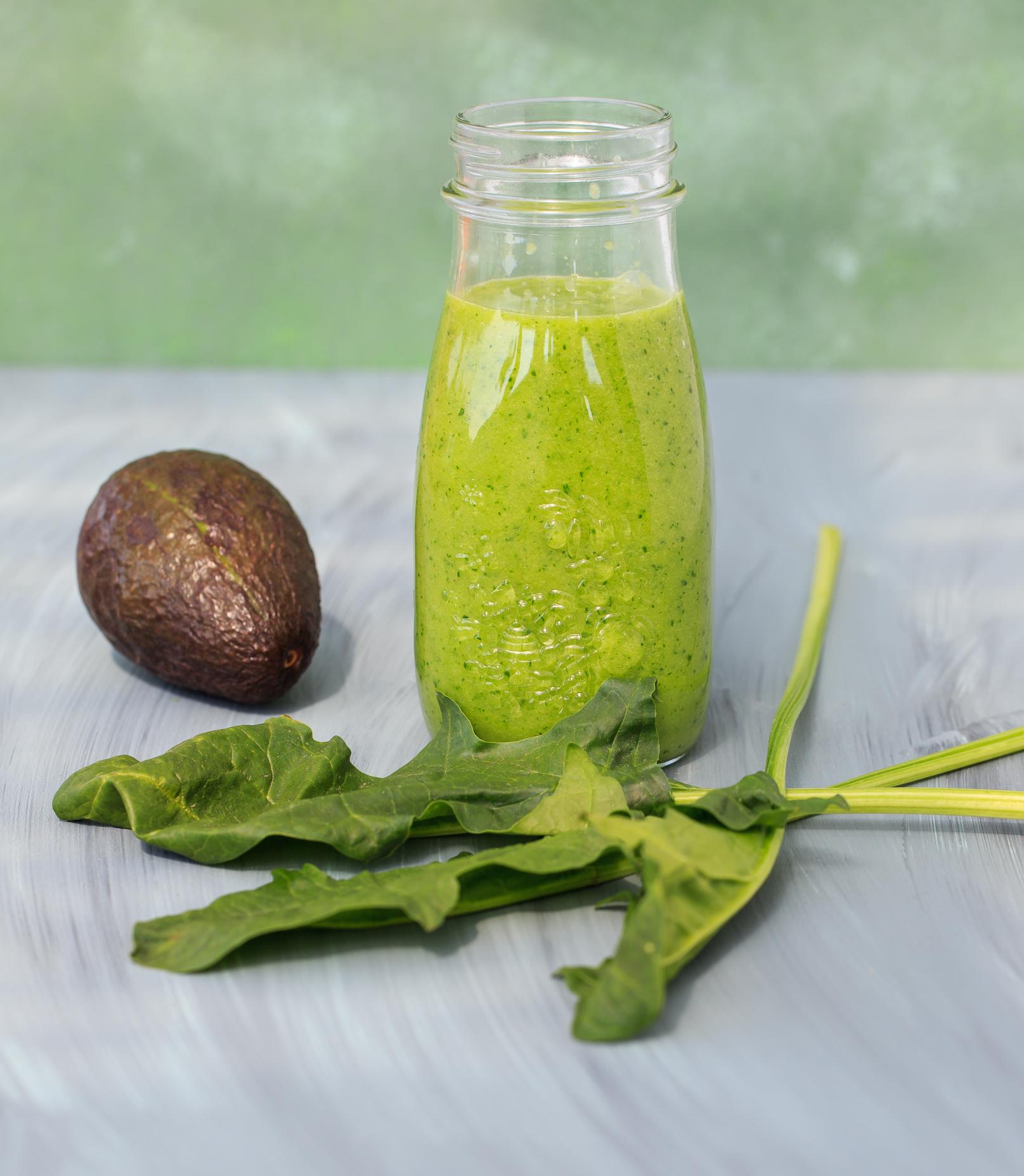 Green-Mango-Tango - Smoothie mit Vitaminkick