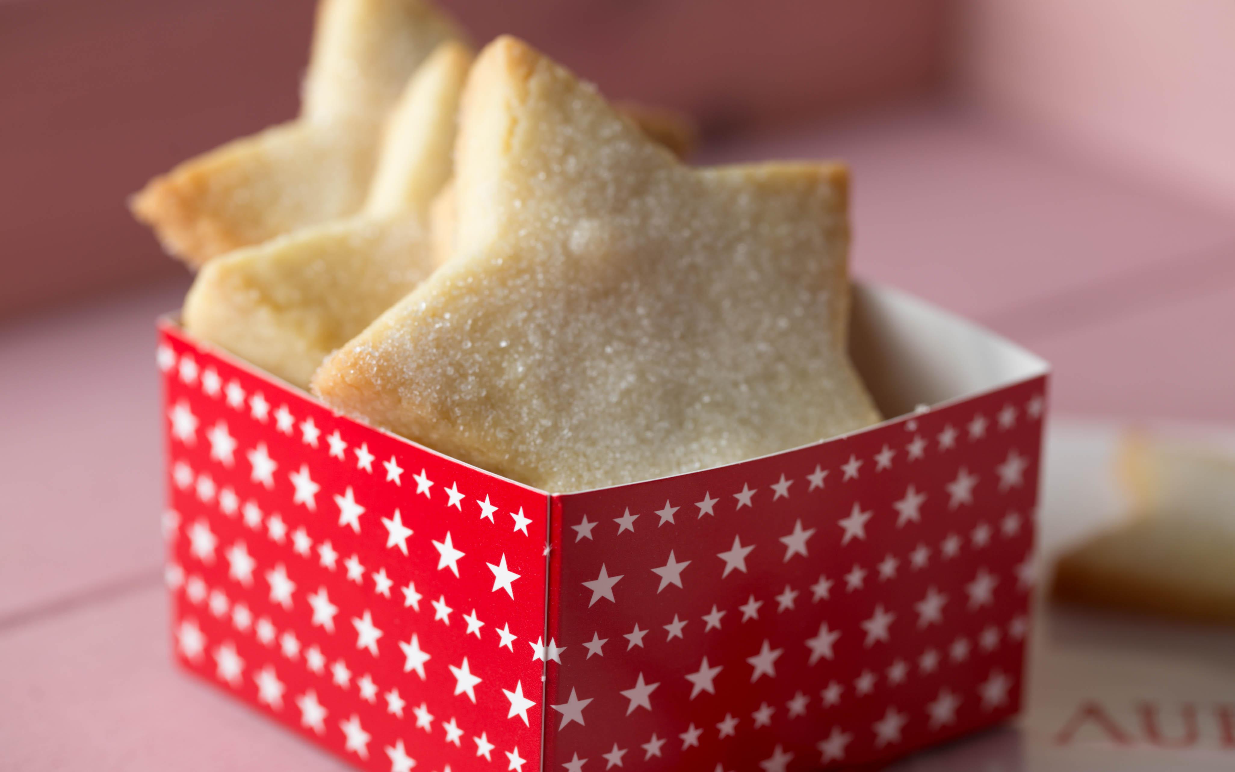 Shortbread aus der Weihnachtsbäckerei