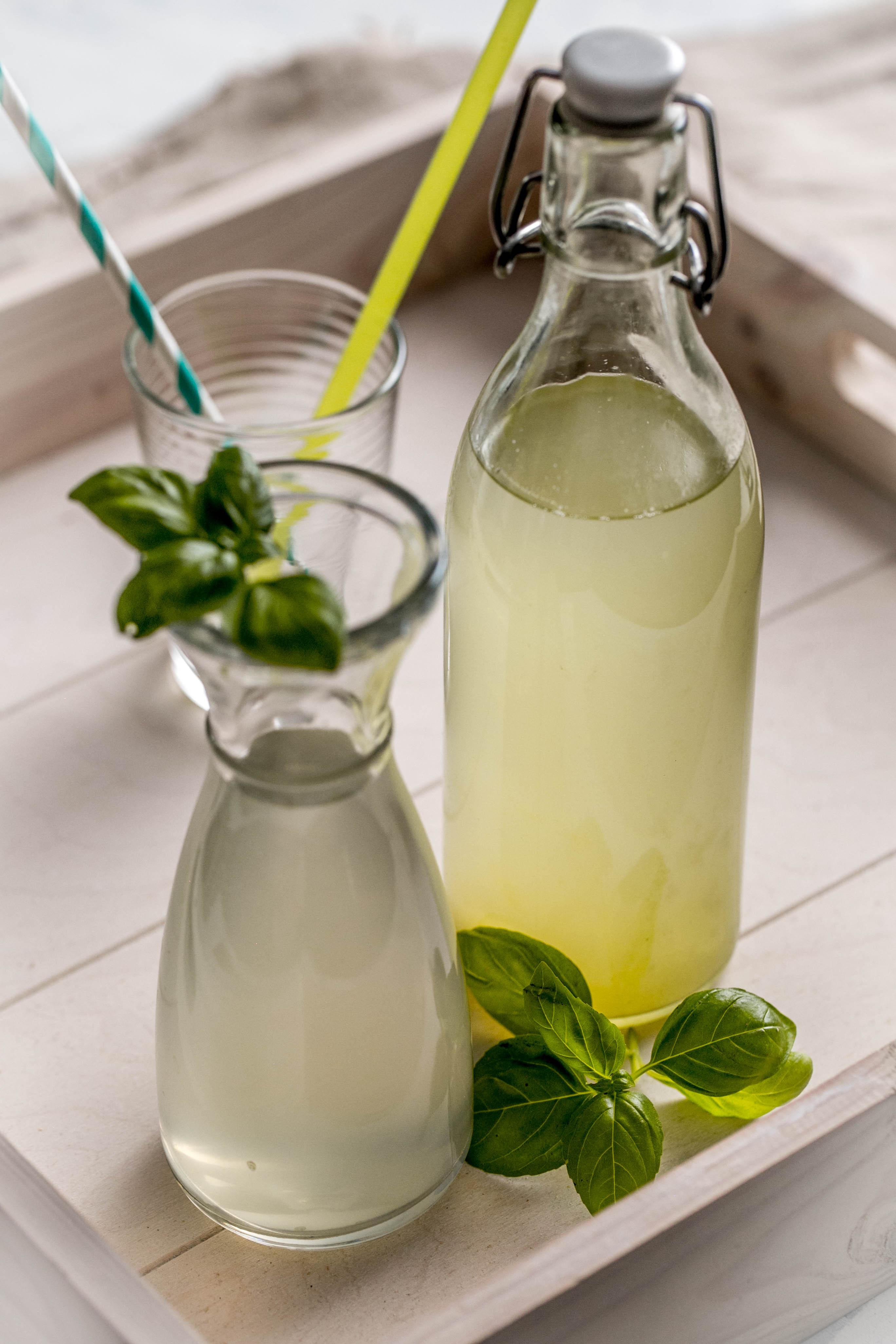 Basilikum-Gurken-Sirup aus dem Thermomix®